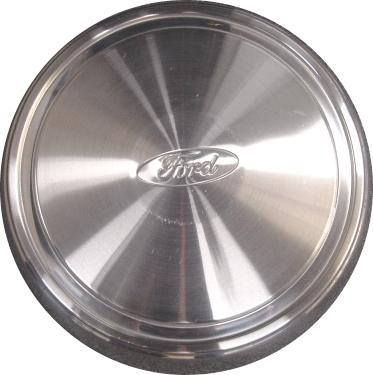 C3035 Ford E-150, E-250, E-350 OEM Stainless Steel Dogdish Center Cap  #F2UZ1015C