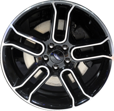 Aly3903 Ford Edge Flex Wheel Black Machined Da8z1007f