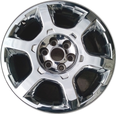 used aly3916 ford expedition f150 wheel chrome clad dl3z1007b