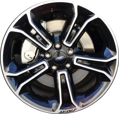 aly3949 ford explorer wheel black machined db5z1007a