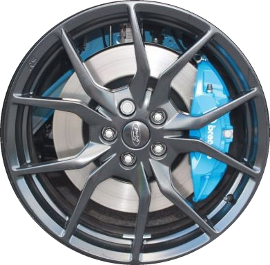 Ford Focus Wheels >> Aly10085 Ford Focus Rs Wheel Black Painted G1ez1007c