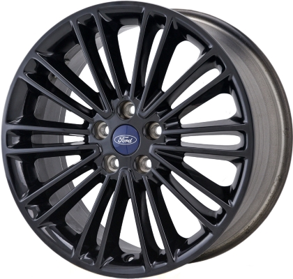 Ford Fusion Black Rims >> Aly3960u45 Pb01 Ford Fusion Lincoln Mkz Wheel Black Painted Ds7z1007l