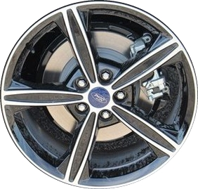 2015 Ford Fusion Rims >> Aly3985 Ford Fusion Wheel Black Machined Fs7z1007a