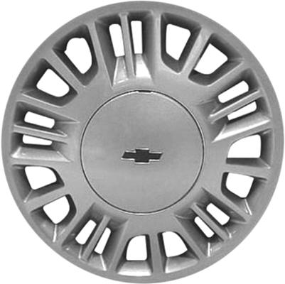 H3233 Chevrolet Malibu Oem Silver Hubcap 15 Inch 9593496