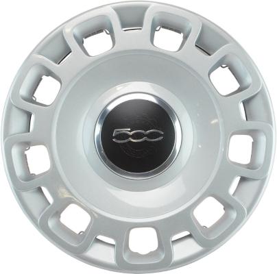 h57579hh fiat 500, 500c oem hubcap 15 inch #68078420aa