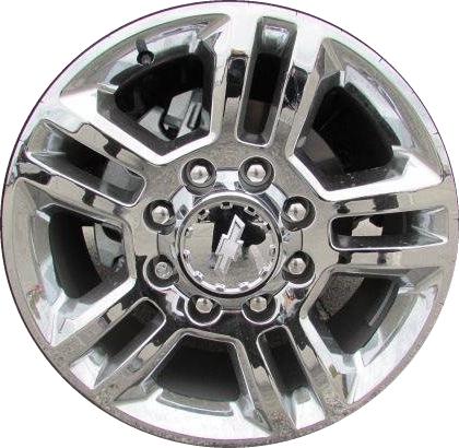 ALY5705 GMC Sierra, Chevy Silverado 2500, 3500 Wheel ...