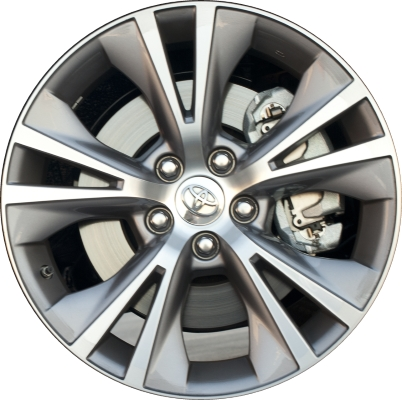 toyota highlander wheels rims wheel rim stock oem replacement. Black Bedroom Furniture Sets. Home Design Ideas