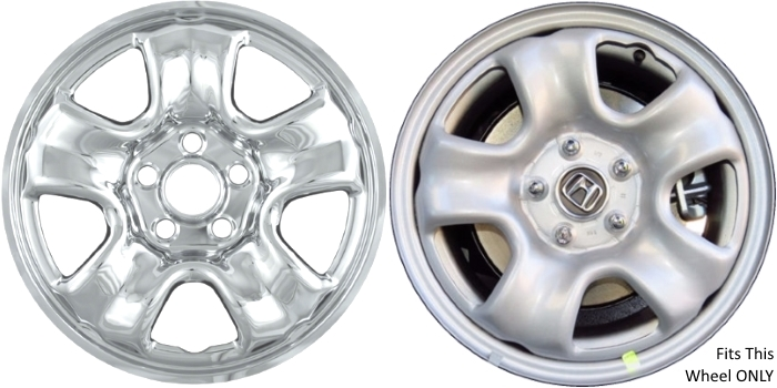 Honda Cr V Chrome Wheel Skins Hubcaps Simulators