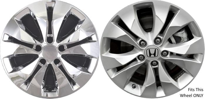 Honda CR-V Chrome Wheel Skins Hubcaps Simulators ...