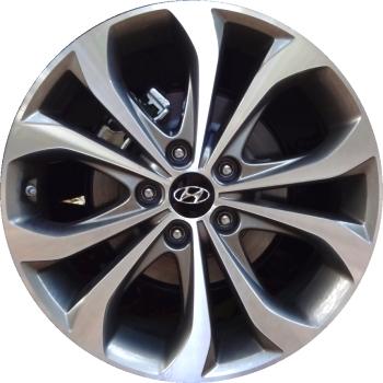Hyundai Elantra 2013 Tire Size >> Hyundai Sonata Wheels Rims Wheel Rim Stock OEM Replacement