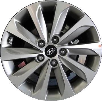Aly70861u35 Hyundai Sonata Wheel Grey Machined 529103q270