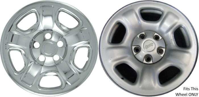 Imp 40x 621pc Jeep Liberty Chrome Wheelskins Hubcaps Wheelcovers Rh  Hubcaphaven Com Jeep Liberty Steering Wheel Covers 2008 Jeep Liberty Wheel  Covers