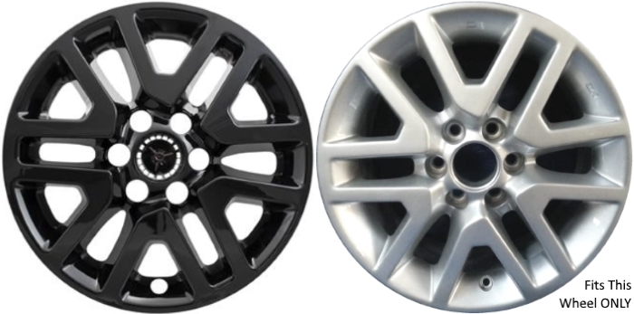 """Fits 2014-2015 Nissan Frontier Wheel Skins 16/"""" Chrome Hubcaps Wheel Covers Set 4"""
