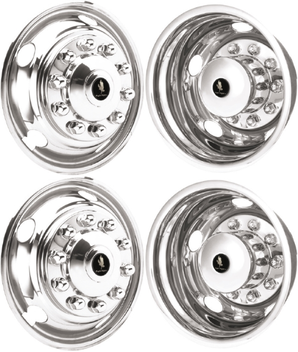 jd19105 08 ford f 700 f 800 19 5 inch stainless steel hubcaps 30 Ford Truck jd19105 08 ford f 700 f 800 19 5 inch stainless steel hubcaps simulators set