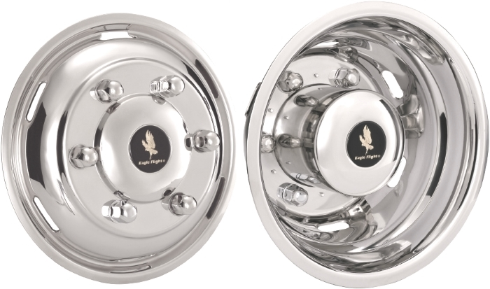 Freightliner sprinter 3500 simulators hubcaps liners for Mercedes benz sprinter wheel covers