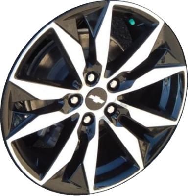 Chevrolet malibu wheels rims wheel rim stock oem replacement aly5716u45 chevrolet malibu wheel black machined 22969723 publicscrutiny Image collections