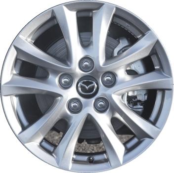 Mazda 3 Rims >> Aly64961 Mazda3 Wheel Silver Painted 9965d06560