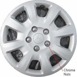 H57577a mitsubishi galant oem hubcapwheelcover 16 inch 4252a009ha publicscrutiny Choice Image