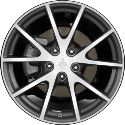 mitsubishi eclipse wheels rims wheel rim stock oem replacement. Black Bedroom Furniture Sets. Home Design Ideas