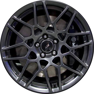 Aly3912 Ford Mustang Shelby Gt500 Wheel Hyper Silver