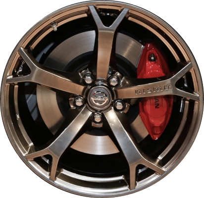 Aly62535u79 62589 Nissan 370z Nismo Rim Dark Hyper D0c001a36b