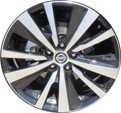 aly62785u45 nissan altima wheel black machined 403006am3aNissan Altima Wheels #1