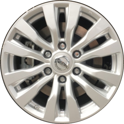 Aly62737 Nissan Armada Wheel Silver Painted D0c005zw1a