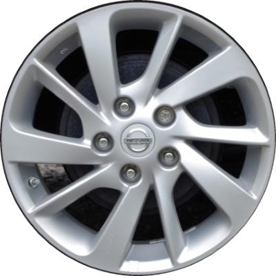 nissan sentra wheels rims wheel rim stock oem replacement. Black Bedroom Furniture Sets. Home Design Ideas
