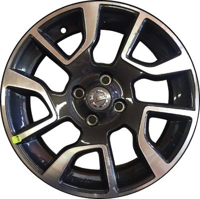 aly62621hh nissan versa wheel charcoal machined 999w14z000