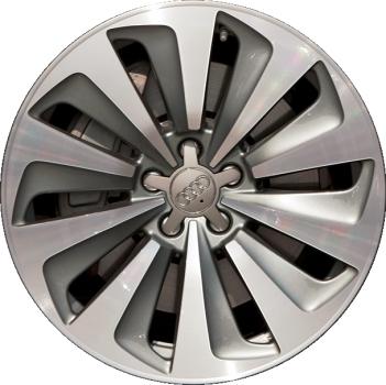 Aly58930 Audi Q5 Wheel Grey Machined 8r0601025aj