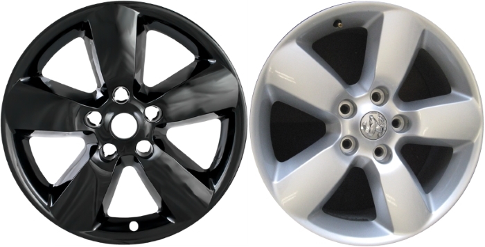 IMP-361BLK/2237GB Dodge Ram 1500 Black Wheel Skins (Hubcaps ...