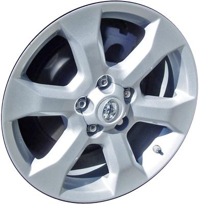 ALY69554 Toyota RAV4 Wheel Silver Painted #4261142370