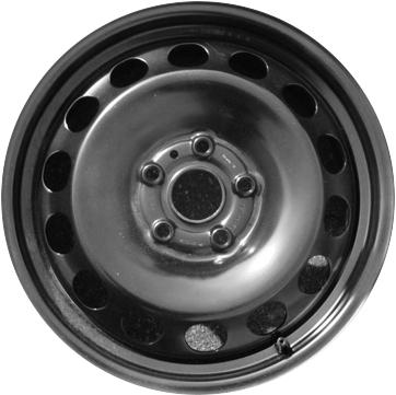 STL61667 Fiat 500L Wheel Steel Black 68201994AA
