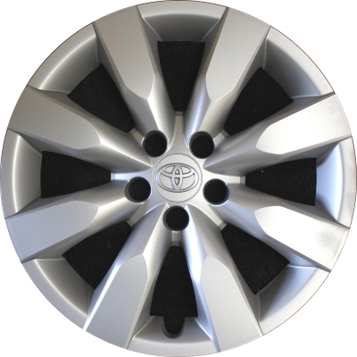 """Set of 4 Chrome Wheel Covers 2012-2013 16/"""" Toyota Corolla Replacement hubcaps"""