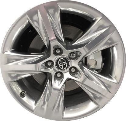 Aly75163u89 Toyota Highlander Wheel Platinum Clad 4260d0e010