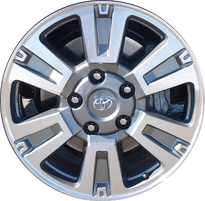 toyota tundra wheels rims wheel rim stock oem replacement. Black Bedroom Furniture Sets. Home Design Ideas