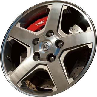 Aly98395 200028 Toyota Tundra Sequoia Wheel Grey Machined