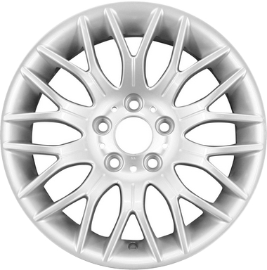 bmw 535i wheels rims wheel rim stock oem replacement 3 Series M Sport aly59474 bmw 5 series wheel silver painted 36116763828