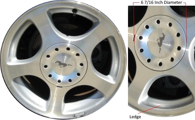 mustang 2003 bolt pattern