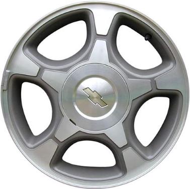 chevrolet trailblazer wheels rims wheel rim stock oem replacement. Black Bedroom Furniture Sets. Home Design Ideas