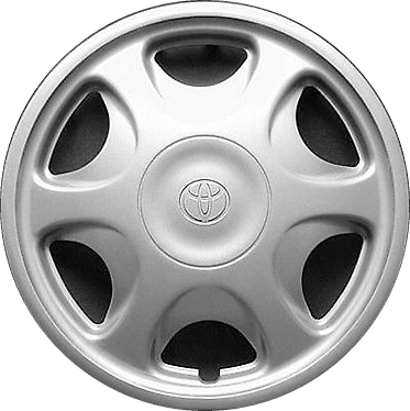 H61095b Toyota Camry Corolla Tacoma Oem Silver Hubcap Wheelcover 14 Inch 26600960