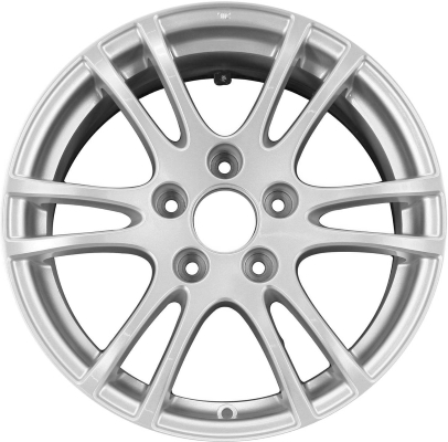 ALY Acura RSX Wheel Silver Painted SMA - Acura rsx rims