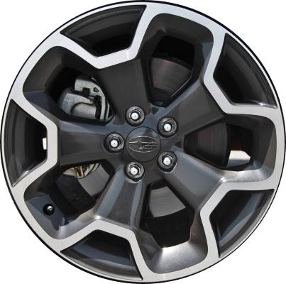 Subaru Crosstrek Rims >> Subaru XV Crosstrek Wheels Rims Wheel Rim Stock OEM Replacement